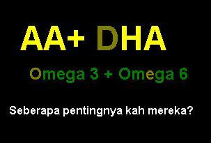 Manfaaat AA dan DHA bagi anak balita