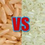 perbandingan beras merah dan beras putih