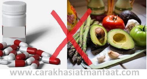 Makanan dan obat yang tak boleh dimakan bersamaan