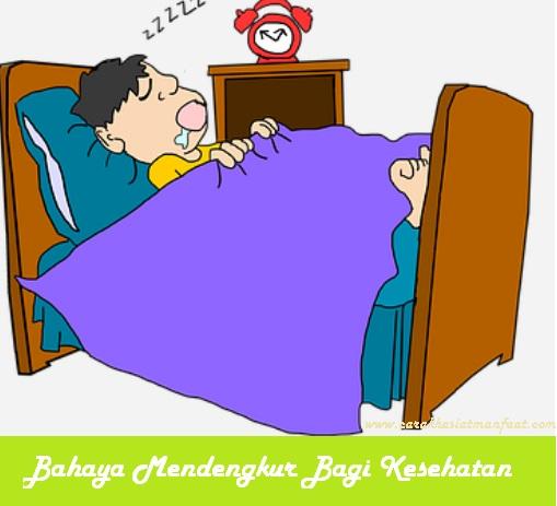 Bahaya tidur mendengkur bagi kesehatan